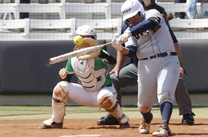 Gallery+Story: Flores Homers, Calderon Sets Season-High in K's; North Texas sweeps UTEP
