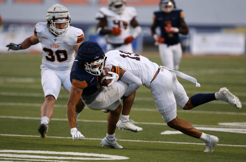 Galleries+Story: UTEP hits the field for annual Spring Game, Unveils Sun Bowl improvements