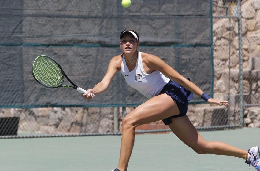 Gallery+Story: Miner Tennis loses to NAU 4-1