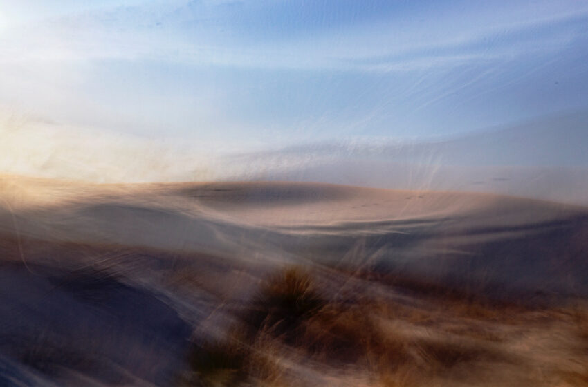 Las Cruces Photographer releases White Sands Perceptions, A Photographic Five Print Box Set