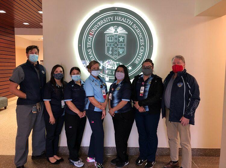 Locomotive FC donates team merch to Health Care Partner Texas Tech Physicians of El Paso