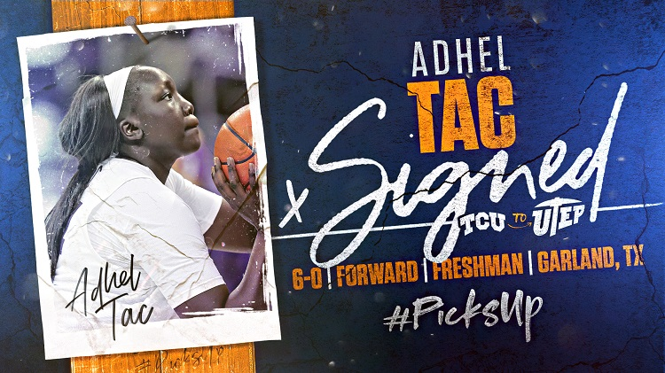 Adhel Tac  | Graphic courtesy UTEP Athletics