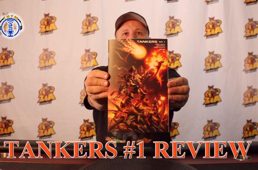 VLog: TNTM's Troy reviews Bad Idea Comics Tankers #1