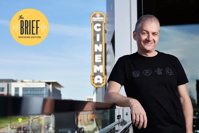 Tim League is the founder of Alamo Drafthouse Cinema. Credit: Courtesy of Annie Ray