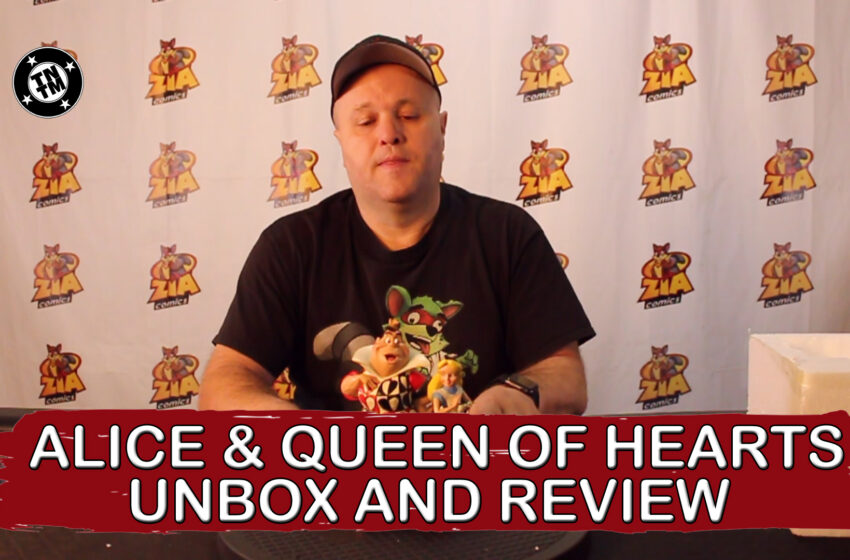 VLog: TNTM's Troy unboxes, reviews Alice and Queen of Hearts by Enesco
