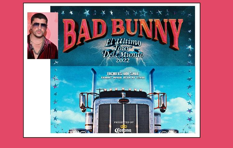 """Bad Bunny to bring """"El Último Tour del Mundo 2022"""" to El Paso next year"""