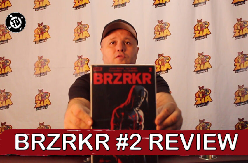 VLog: TNTM's Troy reviews Boom Studios! BRZRKR #2