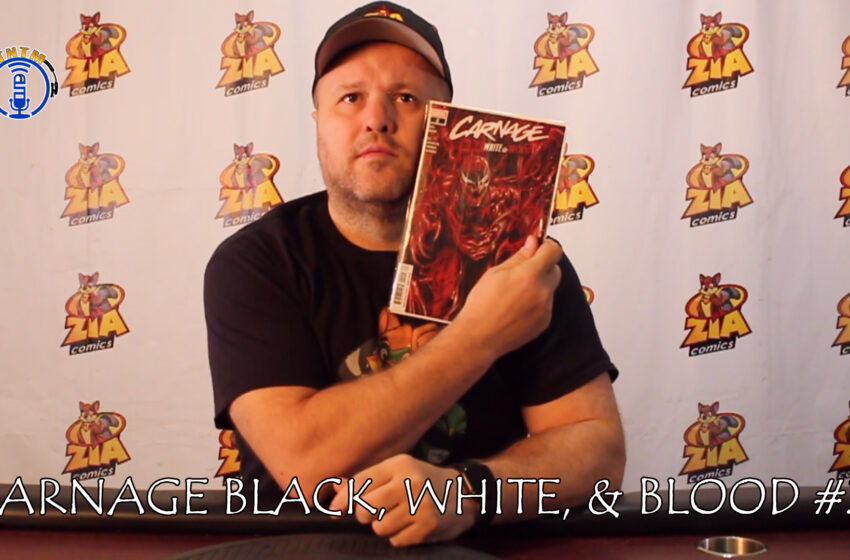 VLog: TNTM's Troy reviews Marvel Comics Carnage Black, White, and Blood #2