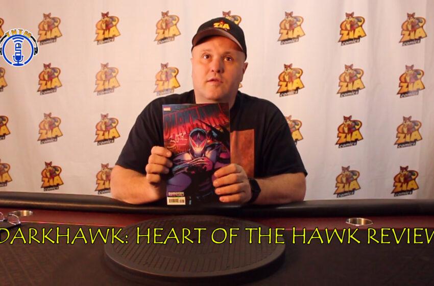 VLog: TNTM's Troy reviews Marvel Comics DarkHawk – Heart of the Hawk