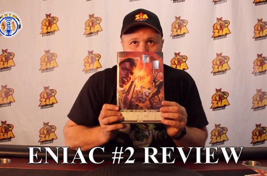 VLog: TNTM's Troy reviews Bad Idea Comics Eniac #2