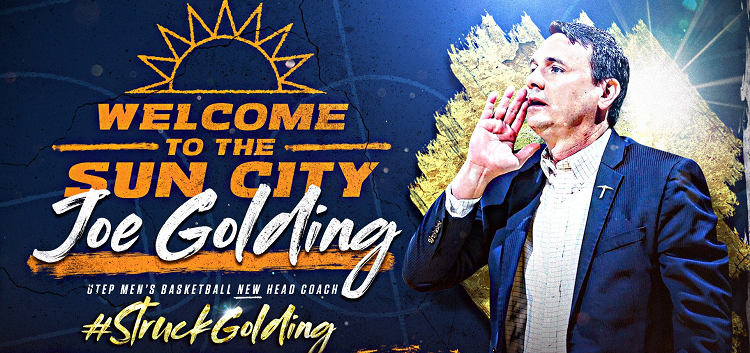 """I'm honored and humbled to be the next head coach at UTEP,"" Golding said.  