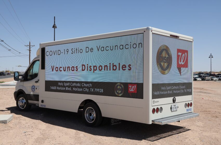Walgreens partners with Holy Spirit Catholic Church, Clint ISD for COVID-19 vaccine distribution