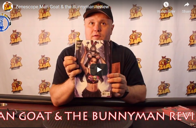 TNTM's Troy reviews Zenescope's Man Goat and the Bunnyman