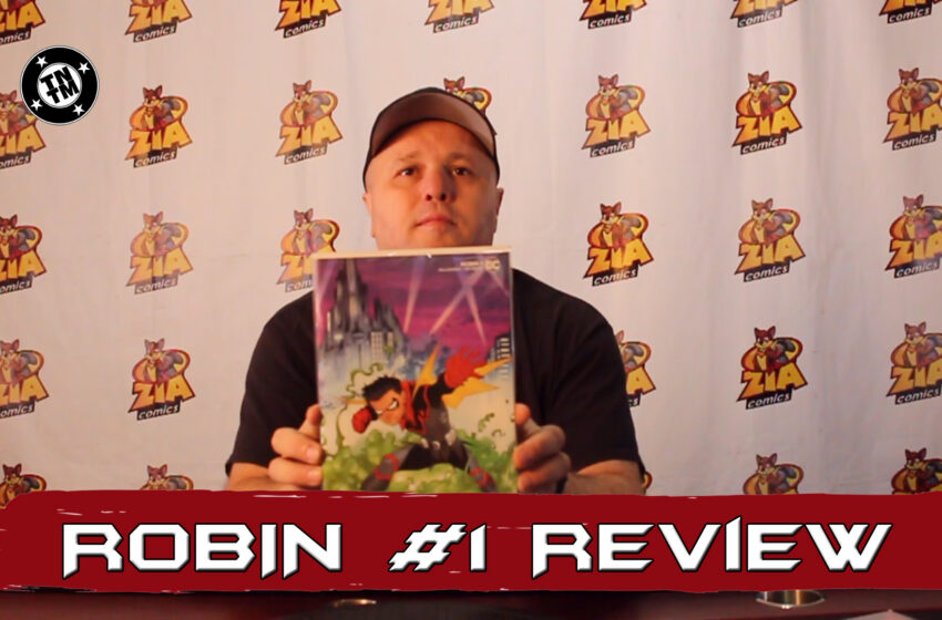 VLog: TNTM's Troy reviews DC Comics Robin #1