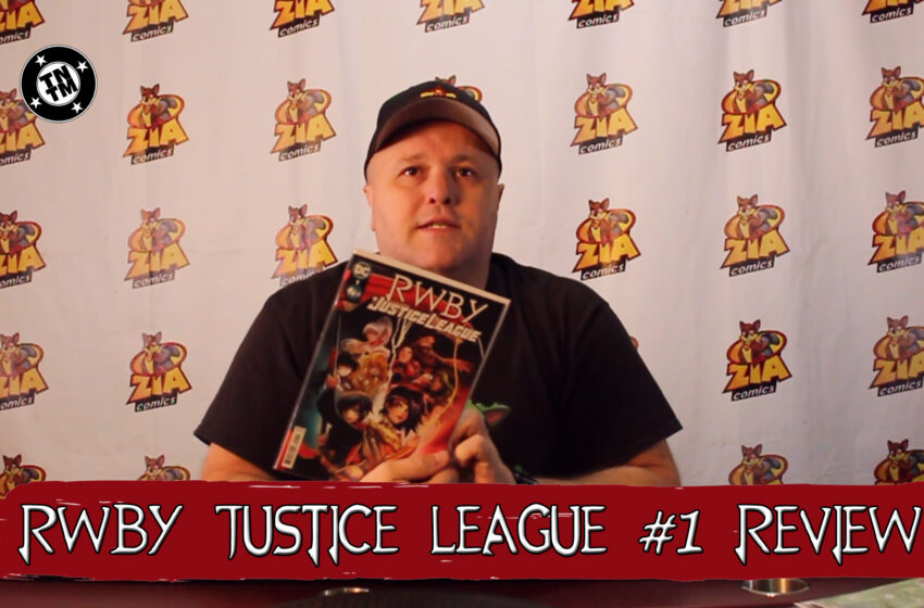VLog: TNTM's Troy reviews DC Comics RWBY Justice League #1