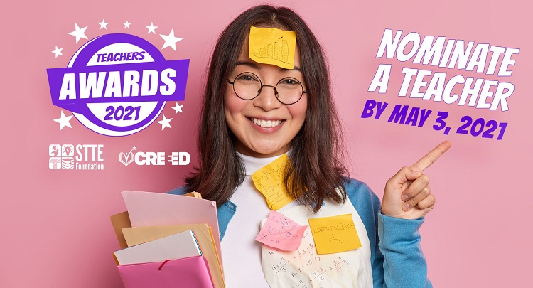 STTE/CREEED announces nomination period open for 2021 Educator Awards