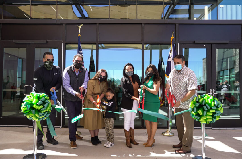 City celebrates completion of Phase One of The Beast Urban Park