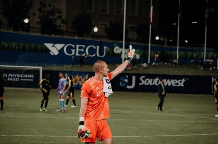 El Paso Locomotive completes loan of GK Logan Ketterer to MLS' Portland Timbers FC