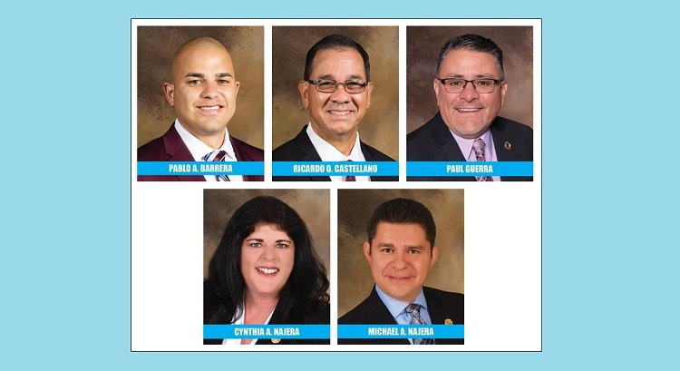 Socorro ISD board trustees sworn in at special meeting Wednesday evening