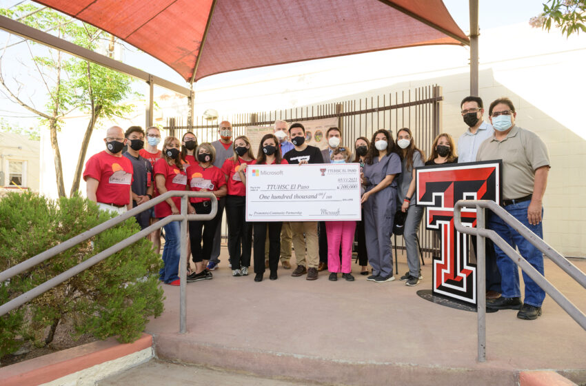 Microsoft announces $100K Grant to TTUHSC El Paso at 79905 Block Party