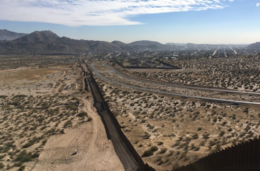 Border Patrol Agents rescue woman who fell from border wall