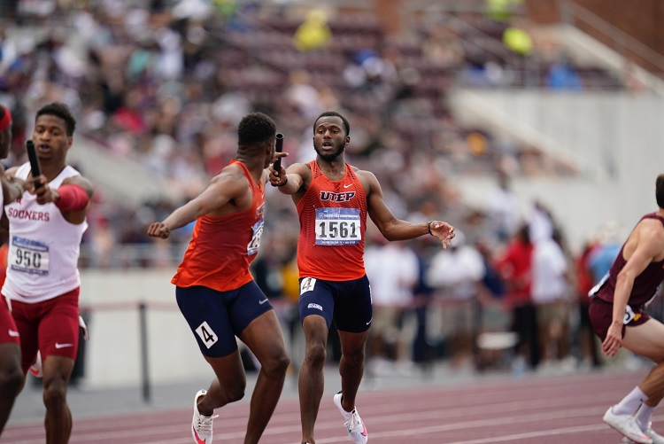 UTEP's Sean Bailey, Men's 4×400 Punch Tickets to Eugene on Saturday