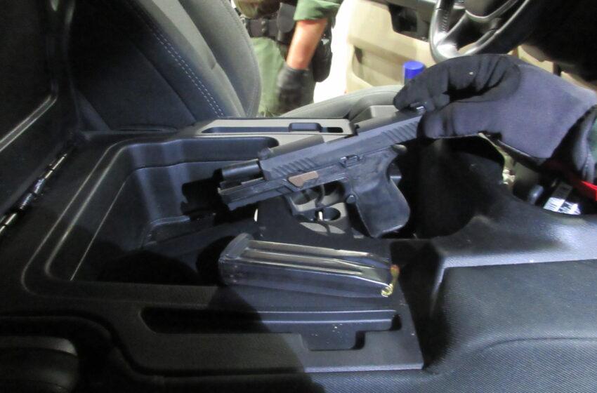 Border Patrol Agents seize drugs, firearms at Alamogordo checkpoint
