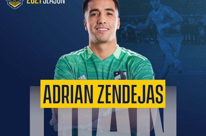 Locomotive grabs Goalkeeper Adrian Zendejas on loan from MLS Club Minnesota United
