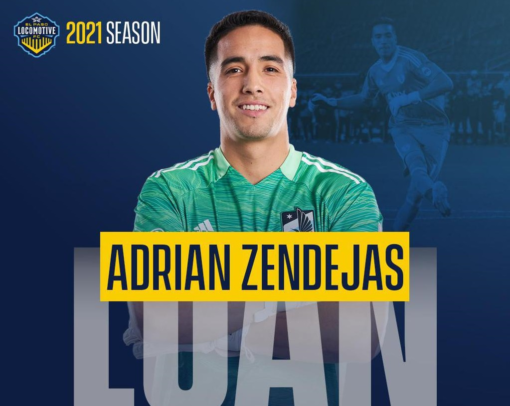 The California native made his professional debut with USL side, Sporting Kansas City II helping lift the club to two USL Cup finals (2016, 2017).  | Graphic courtesy EP Locomotive FC