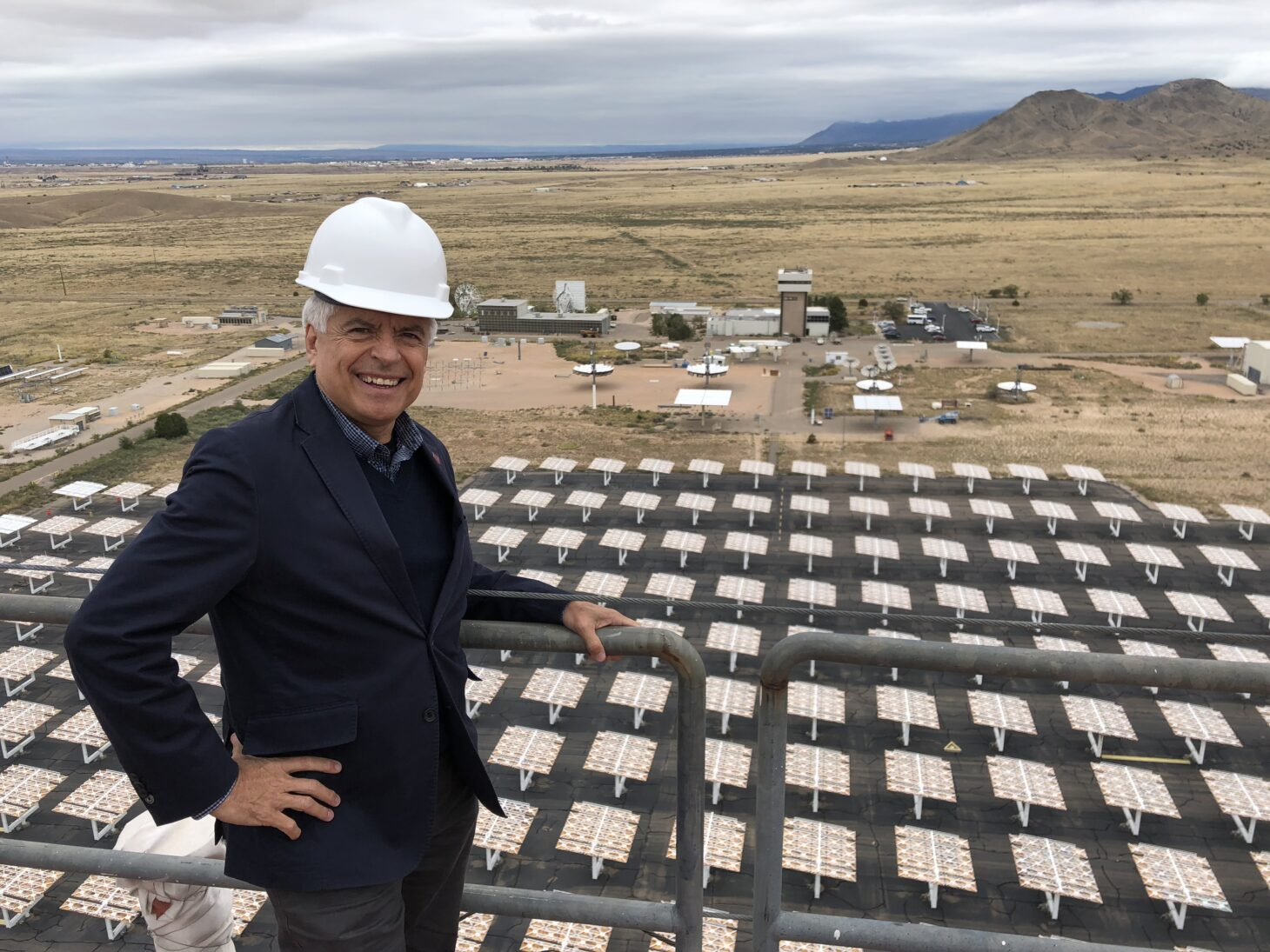 New Mexico State University Chancellor Dan Arvizu will address the virtual Clean Energy Economy Town Hall May 18.  | Photo courtesy NMSU