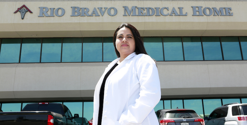 Michelle Calderon will graduate from UTEP's Doctor of Nursing (DNP) program May 15, 2021. The DNP Program will bestow its 101st practice doctorate degree during UTEP's Spring 2021 Commencement Ceremony at Sun Bowl Stadium. Photo: Laura Trejo / UTEP Communications.