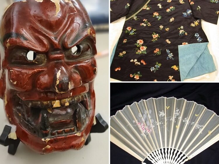 """UTEP opens Student Exhibit """"Beyond the Borderland: A Look at Chinese and Japanese Objects in El Paso"""""""