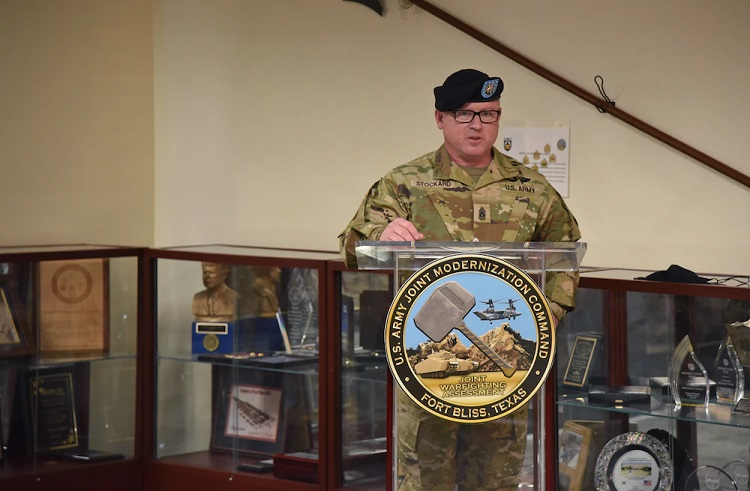 JMC's new senior enlisted advisor ready to help shape future of the Army
