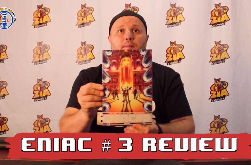 VLog: TNTM's Troy reviews Bad Idea Comics ENIAC #3