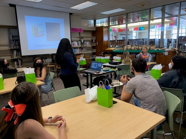 Emergence Health Network provided suicide prevention training for some students at El Paso High on Thursday May 27, 2021   Photo courtesy Emergence.
