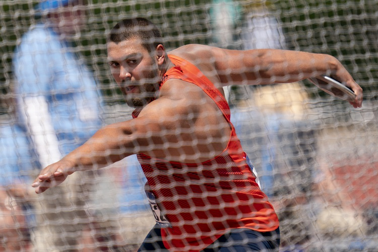 UTEP's Hristov advances to Nationals, Remainder of West Prelims Delayed till Saturday due to Lightning