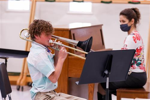 Middle school student musicians compete in person, virtually