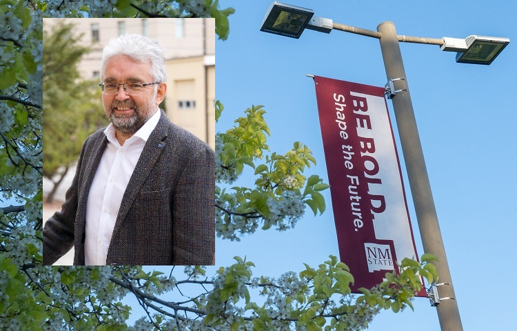 New Mexico State University Department of Mechanical and Aerospace Engineering Professor Igor Sevostianov has received a 2021-2022 Fulbright Faculty Fellowship award, and he will spend the spring 2022 semester in Sofia, Bulgaria.  |   NMSU photo by Vladimir Avina