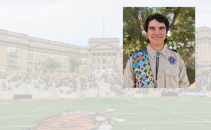 El Paso High School Sophomore earns Eagle Scout Award