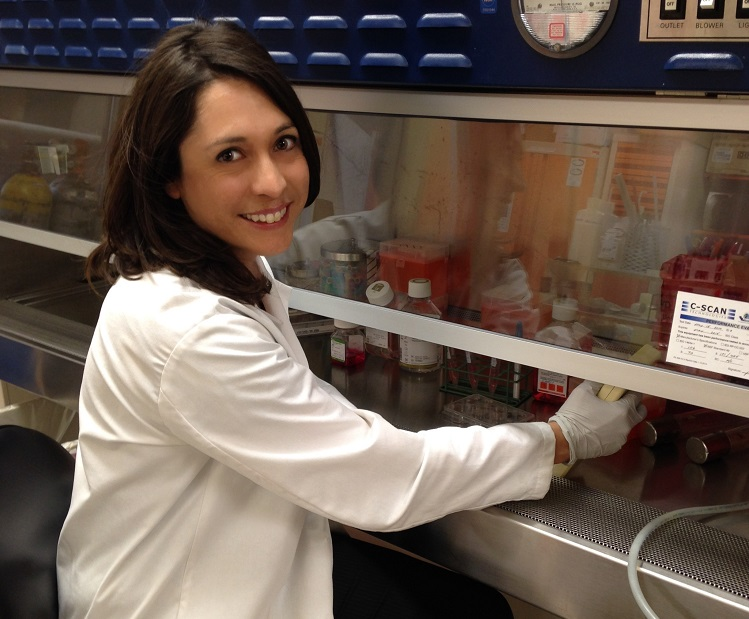Dr. Kristina Trujillo is the founder and CEO of TNeuroPharma, which is developing a new blood test to detect Alzheimer's Disease earlier. | Photo courtesy NMSU