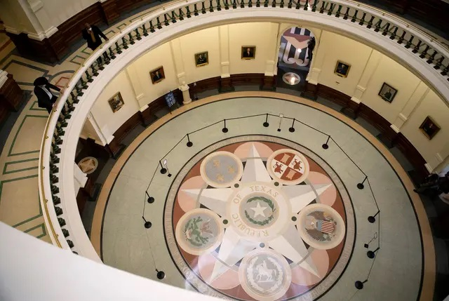 A view inside the state Capitol on the opening day of the legislative session. Credit: Miguel Gutierrez Jr./The Texas Tribune