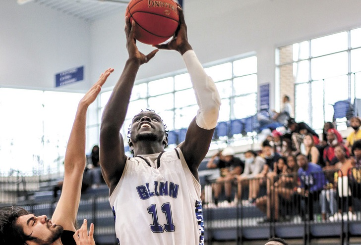 Miner men's basketball inks Blinn College transfer 6-foot-10 Bonke Maring