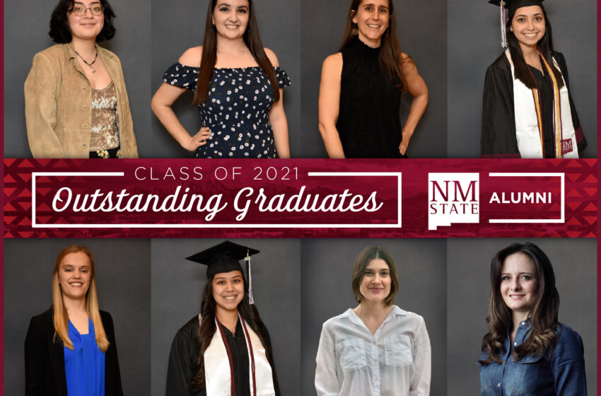 Eight graduating NMSU students honored with prestigious award