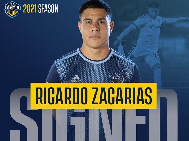 New Crewmember!  Locomotive sign Forward Ricardo Zacarías