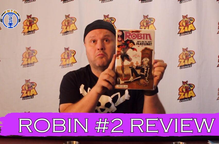 VLog: TNTM's Troy reviews DC Comics Robin #2