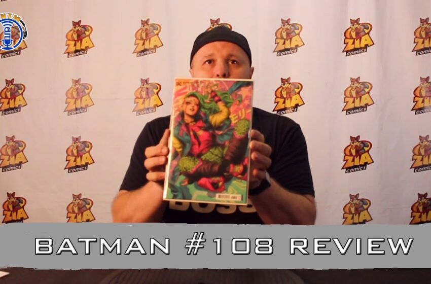 VLog: TNTM's Troy reviews DC Comics Batman #108