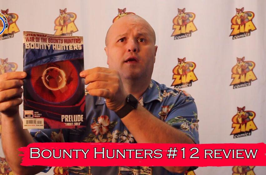 VLog: TNTM's Troy reviews Marvel Comics Bounty Hunters #12