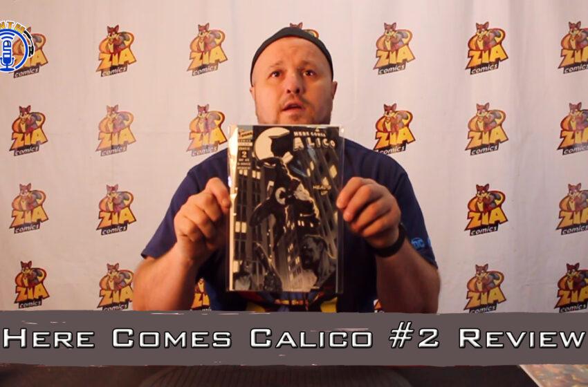 VLog: TNTM's Troy reviews Sigma Comics Here Comes Calico #2