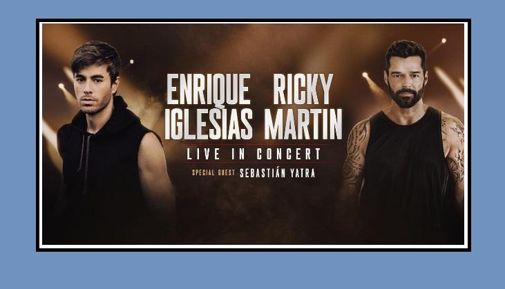 Enrique Iglesias, Ricky Martin El Paso concert rescheduled for November 10
