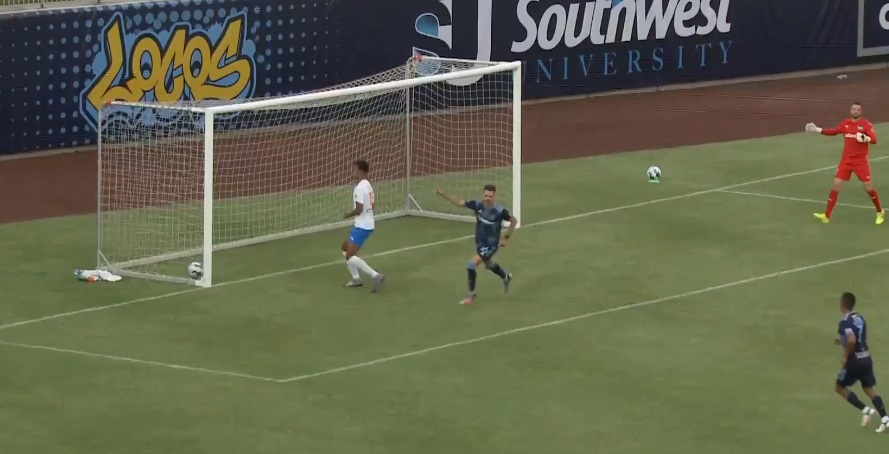 Luis Solignac's 18th-second goal is the fastest in Locomotive history and currently stands as the fastest goal across the league in the 2021 season.  | Clip courtesy EP Locomotive/USL